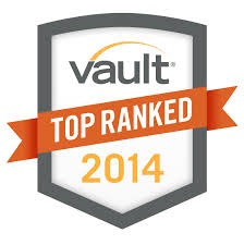 The top firms according to Vault