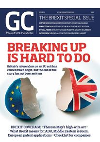 Cover of our latest issue
