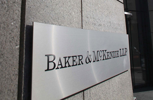 Baker & McKenzie named top law firm brand