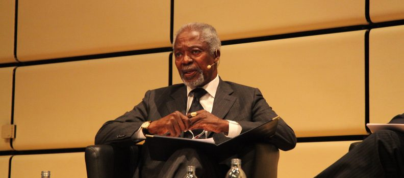 Annan: lawyers have a higher calling than just business
