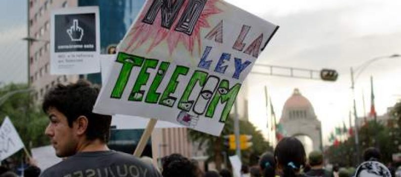Mexico retreats on Telecom law following demonstrations