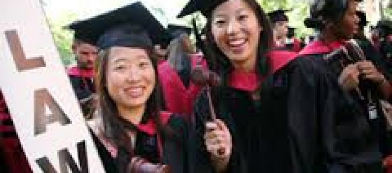 Smaller pool of U.S. law school graduates means more jobs, sort of